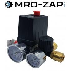 Автоматика для компрессора в сборе 220В с быстросъемами
