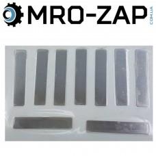 Мембрана компрессора прямая 10*53мм (1 лист)