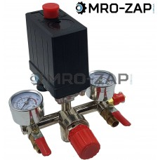 Автоматика для компрессора в сборе 220В с кранами