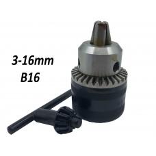 Патрон под ключ 3-16mm B16