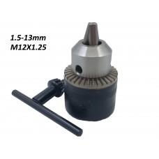 Патрон под ключ 1,5-13mm M12X1.25